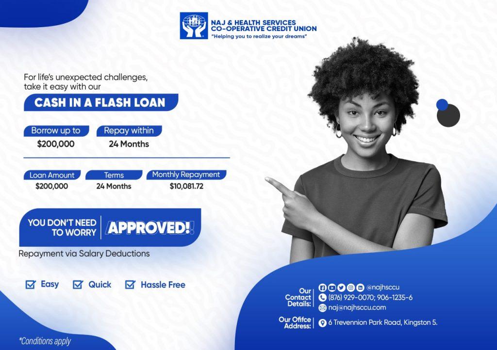 cash in flash loan promotion